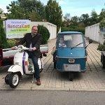 Werbefahrt für Remstalgartenschau